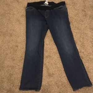 Maternity jeans from Target size 18